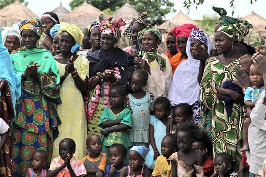 Coopérative féminine à Toubacouta - Les Amis de Nébéday