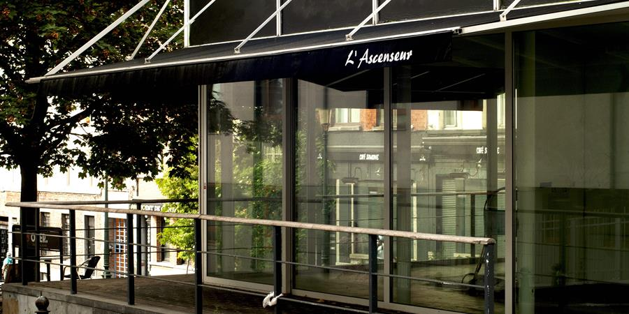 Géopolis investit l'ascenseur du Palais du Justice  - Gare de l'Est