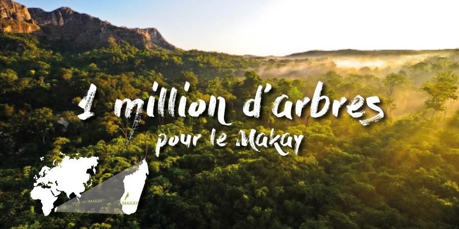 1 million d'arbres pour le Makay - Naturevolution