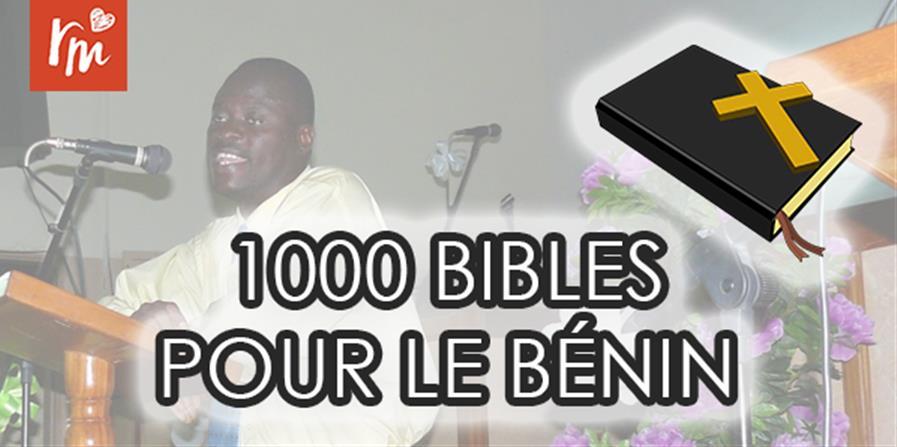 1000 Bibles pour le Bénin - Reformedia