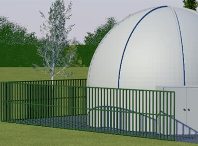 Un planétarium à Mailly le Château - ASCMC URSA MAJOR ASTRONOMIE
