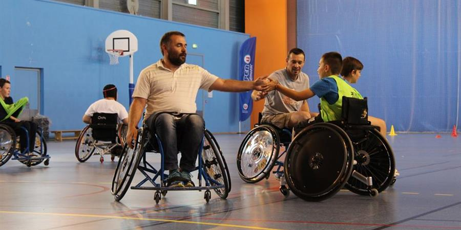 Création d'une section handfauteuil - HANDBALL OLYMPIC PONS GEMOZAC