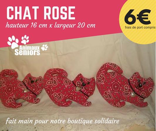 Chat décoratif - 6€ - Animaux Séniors