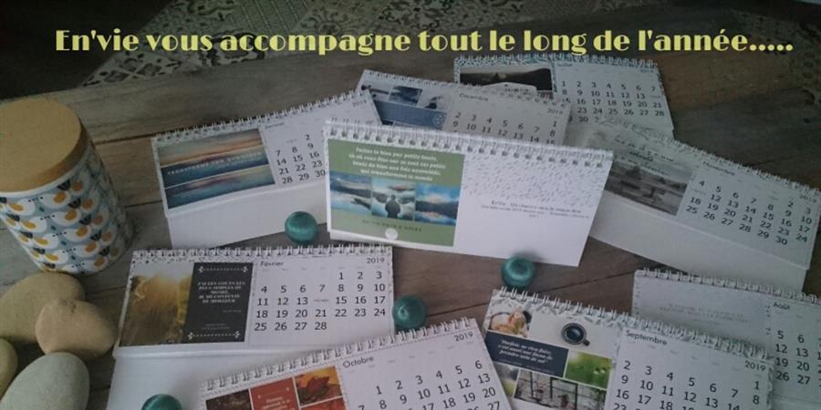 Les calendriers En'Vie 2020 pour VOUS!!!!!!!!!!! - En'vie