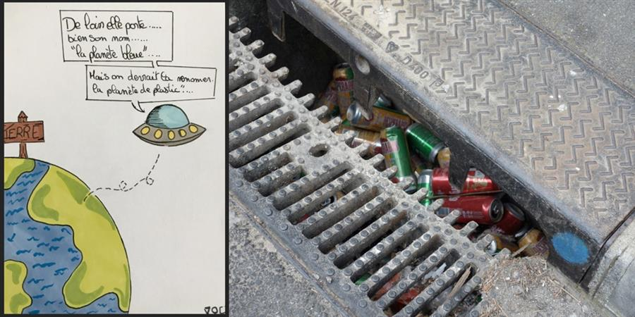 Transformer au quotidien une photo d'un macro déchet en un acte citoyen actif - T EAU T O PHIL