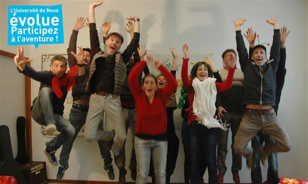 L'Université du Nous évolue. Participez au mouvement !   - Université Du Nous