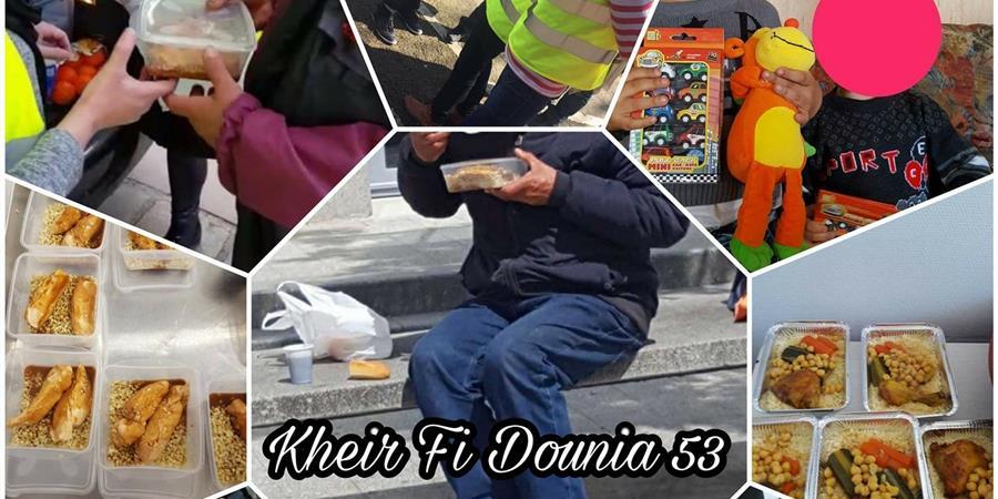 Soutient Kheir Fi Dounia - Laval (53) - kheir fi Dounia