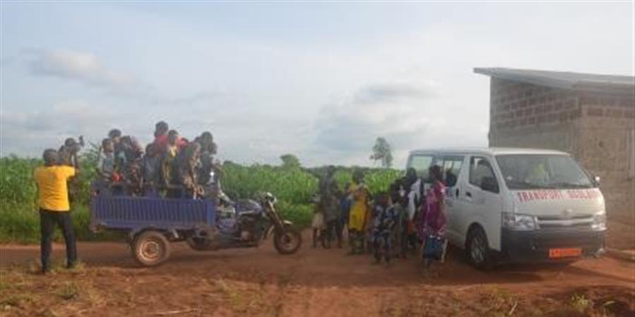 Achat minibus - ADRA Benin