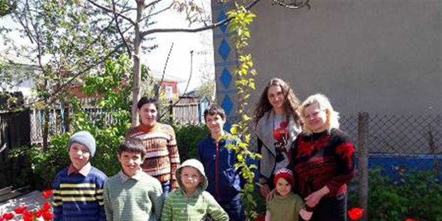 Aide à une maison d'enfants de type familial qui héberge sept orphelins - Les Moldaviens