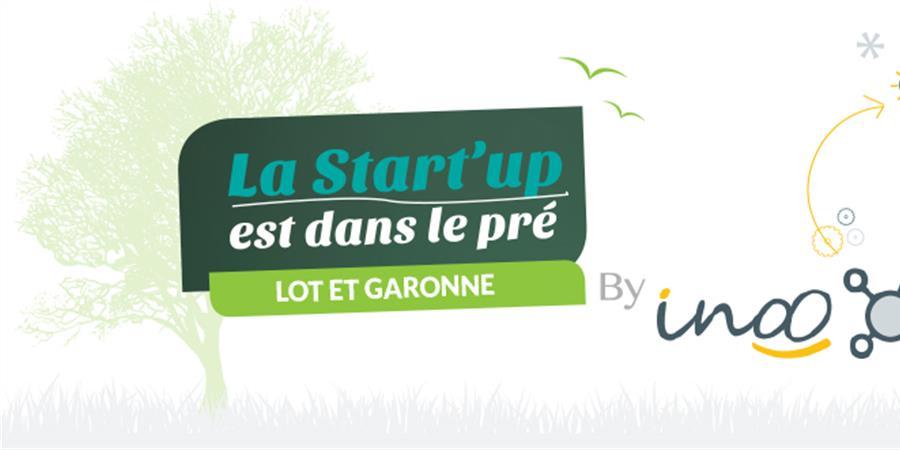 La Startup est dans le pré - Lot et Garonne by inoo - inoo