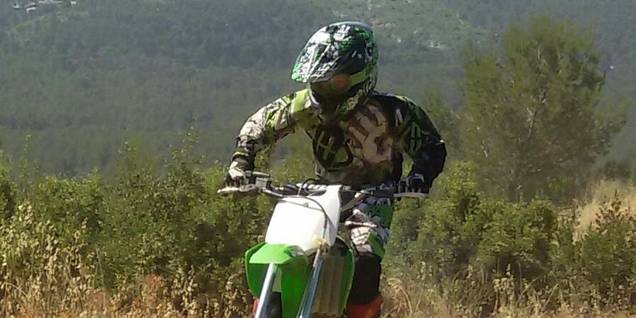 Lenny  le petit Motard  - operationolivierabarcelone