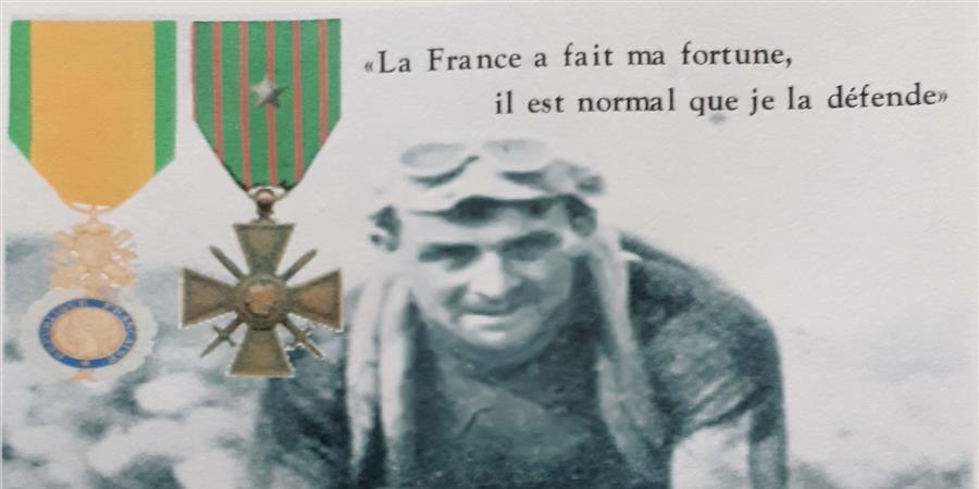Une statue pour François FABER - A MOI LA LEGION