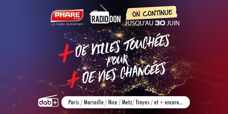 Nouvelles fréquences DAB+ de PHARE FM  - PHARE MEDIA