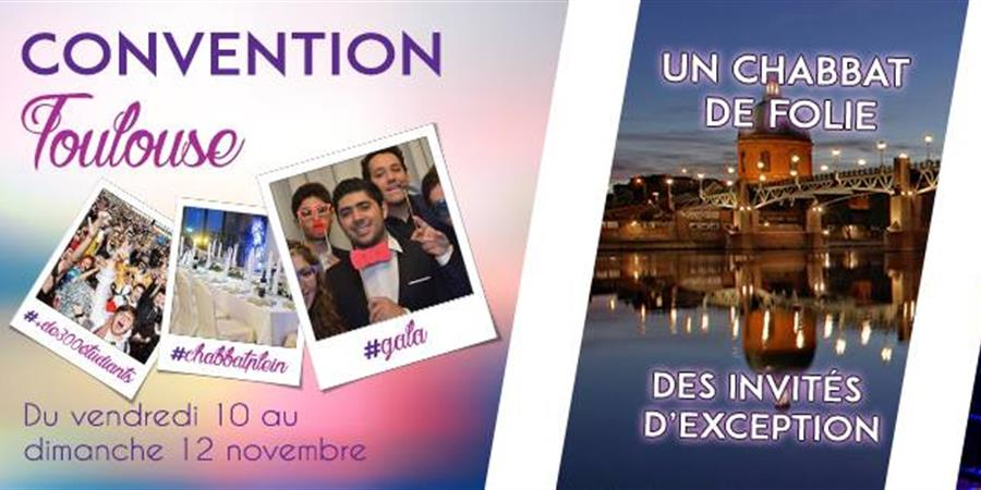 Convention Nationale de l'UEJF à Toulouse - Union des Etudiants Juifs de France
