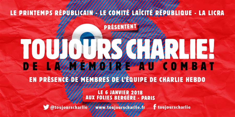 Soutenez #ToujoursCharlie! - Licra