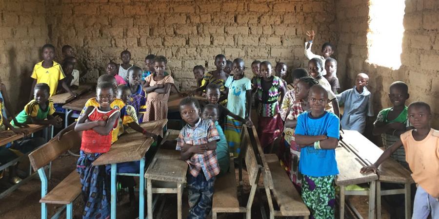 Une école à Diasser - FLOIRAC CAP BURKINA