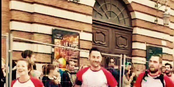Lucas au Marathon de Toulouse!! - PETIT COEUR DE BEURRE