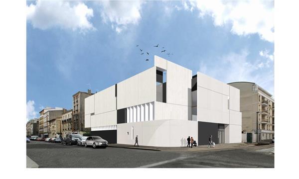 Construction du Centre Culturel Juif de Boulogne - ACJBB