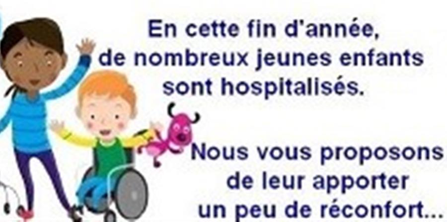 Don pour le service pédiatrique du Centre Hospitalier de Moulins-Yzeure - FFMC03