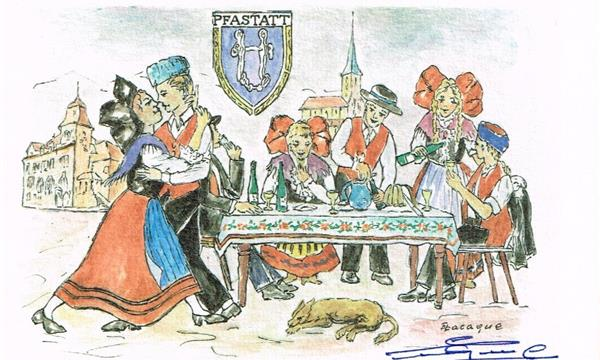 Acquisition de la collection du graveur et peintre alsacien Eugène LACAQUE - Association Muséale du Patrimoine d'Alsace
