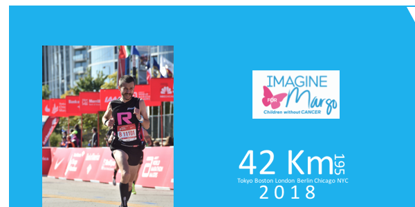 Imagine six World Marathon Majors for Margo ! - IMAGINE FOR MARGO- Children without cancer