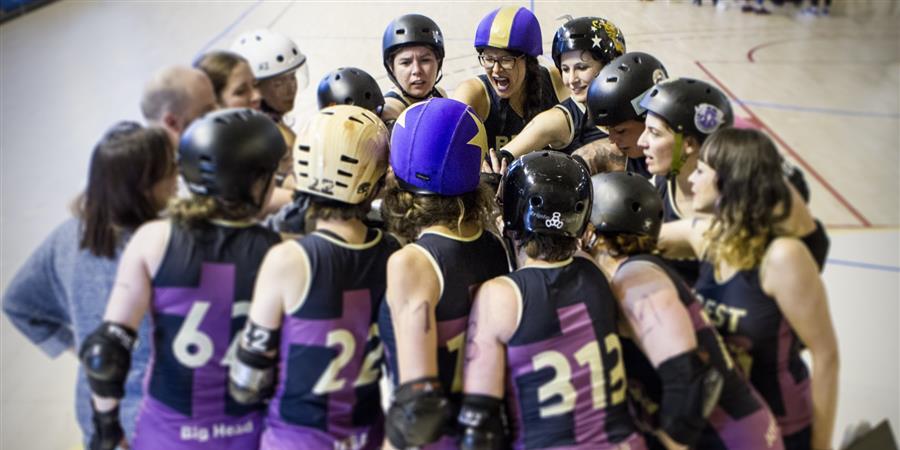 Aguen au Roller Derby Con - B.M.O Roller Derby Girls