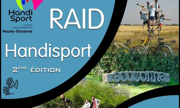 Raid Handisport 2016 - Comité Départemental Handisport Haute-Garonne