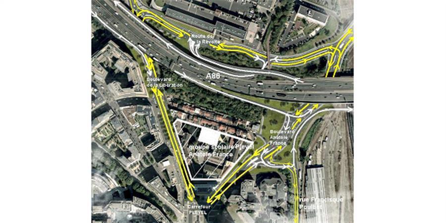 Recours juridique : système d'échangeurs de Pleyel(A86) et de Porte de Paris(A1) - FCPE 93 Pleyel Anatole France