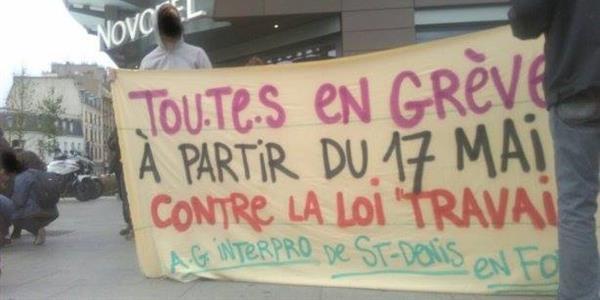 Caisse de grève de l'Assemblée Générale interprofessionnelle de Saint-Denis  - SUD étudiant Paris 8