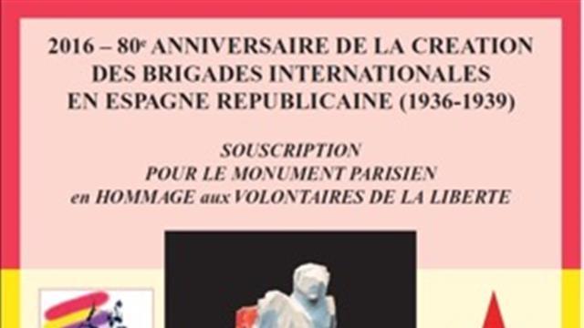 Monument aux Brigades Internationales à Paris - ACER