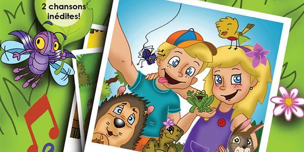 Edition d'un livre musical illustré pour enfant : Rencontres au jardin Tome 2 - organisation de l'Homme vrai