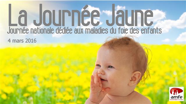 La Journée Jaune - association maladies foie enfants, amfe