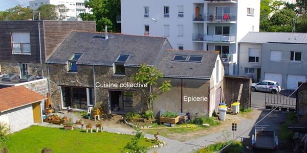 Epicerie associative et cuisine collective à Chantenay-Bellevue (Nantes) - Le Comptoir des Alouettes