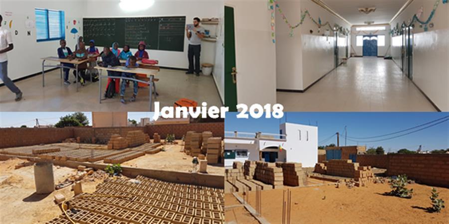 """Phase 3 du projet complexe """"orphelinat""""  à Louga au Sénégal - deux ailes"""