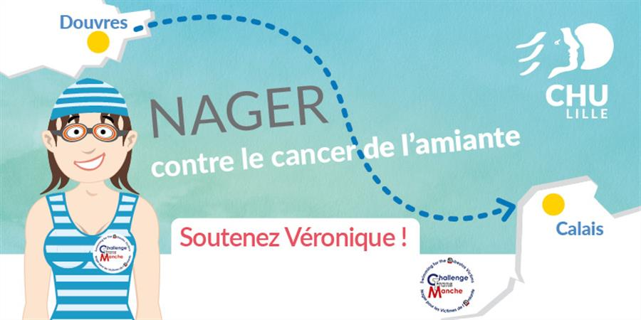 Nager contre le cancer de l'amiante  - Association Challenge Transmanche - CTM
