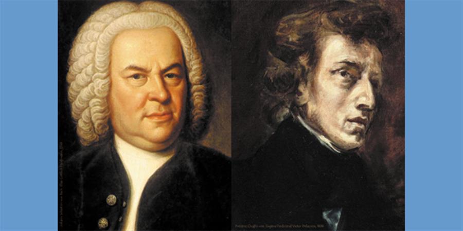 Jean-Sébastien Bach et Frédéric Chopin, musiques enlacées - RESPIR'
