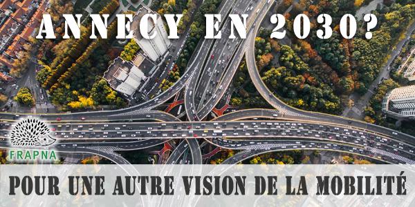 Contre l'élargissement de l'A41 au nord d'Annecy - FRAPNA Haute-Savoie