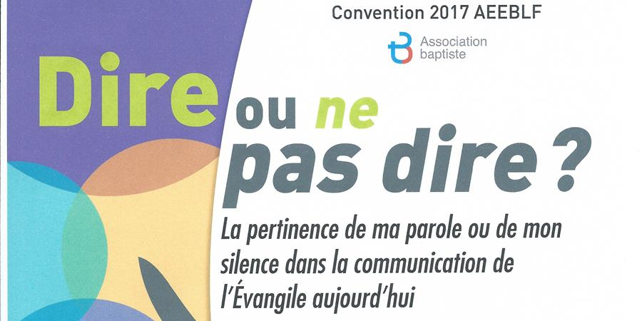 Dons pour la Convention2017 - SAB
