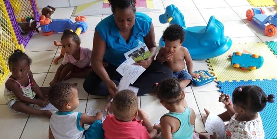 Ensemble pour l'association Criança e Familia - Brésil  - Libre en Tête- projet Mutirao