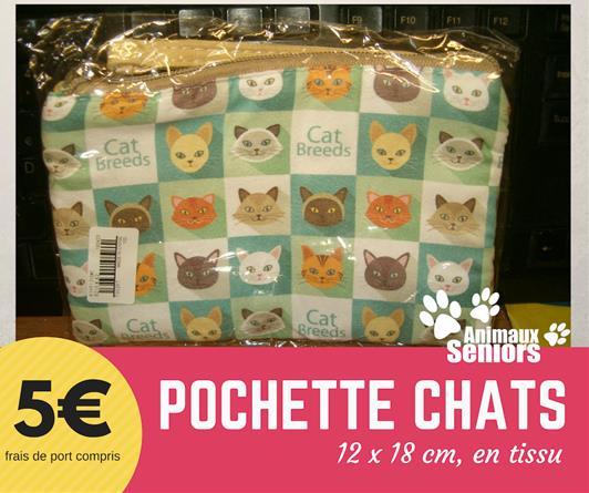 Pochette chats - 5€ - Animaux Séniors