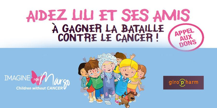 La Collecte de Lili - IMAGINE FOR MARGO- Children without cancer