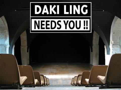 DAKI LING NEEDS YOU ! - DAKI LING - CITY ZEN CAFE