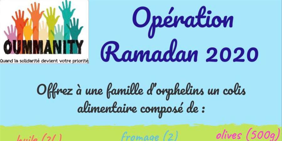 Colis ramadhan 2020 - Oummanity