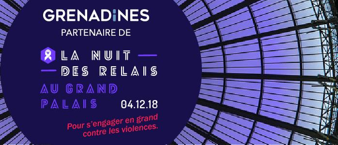 GRENADINES & CIE - NUIT DES RELAIS 2018 - Fondation des Femmes
