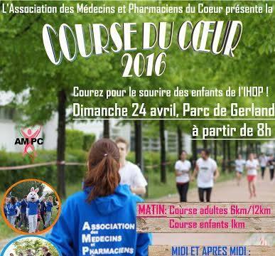 6ème Edition de la Course du Coeur - Association des Médecins et Pharmaciens du Coeur