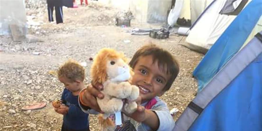 Des jouets, des sourires... pour l'Espoir!/ Toys for smiles... - BABY CARRIERS FOR HOPE