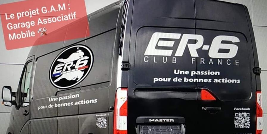Le Garage Associatif Mobile EQUIPEMENT RIDERS 6 - Association EQUIPEMENT RIDERS 6 (ER6 CLUB FRANCE)
