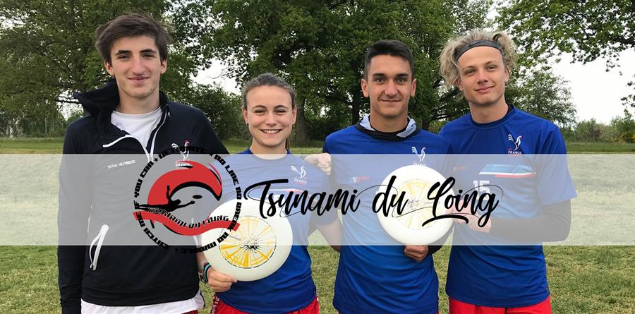Soutien aux Tsunamis Juniors Internationaux - Tsunami du Loing