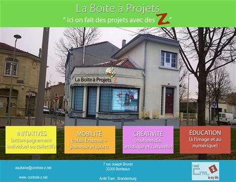 """Ouverture de """"La Boîte à Projets Z"""" - Contrôle Z"""