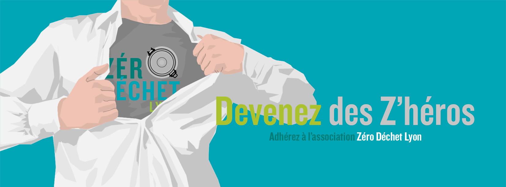 Adhésion à l'association Zéro Déchet Lyon - Zéro Déchet Lyon